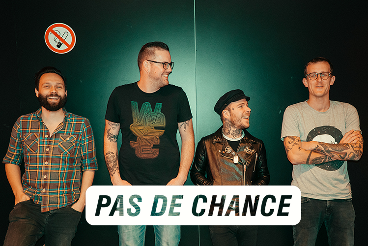 Cover Image of Pas De Chance on lineup page Nyx Festival