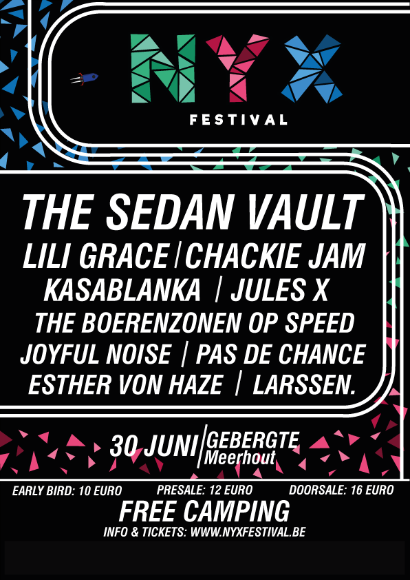 affiche Nyx Festival 2018